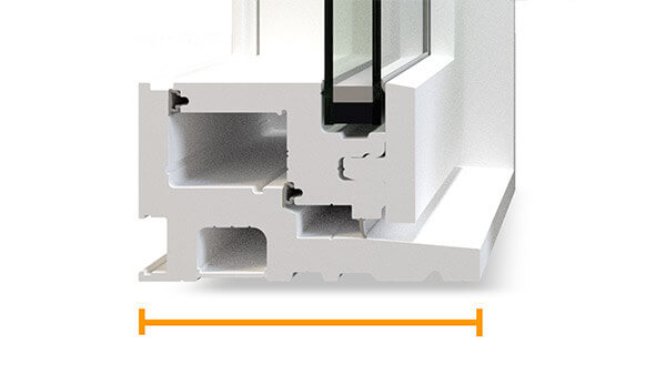 "Custom Shaped Windows - 4½"" fusion-welded frame"
