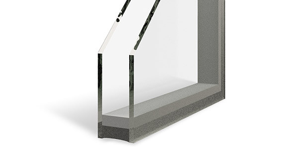 Double Slider Windows - Dual-pane insulated glass units