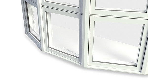Bay Windows - High-gloss finish