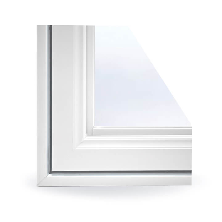 Double Slider Window Colonial Profile
