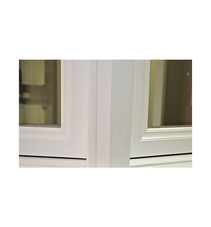 Bay Windows - Exterior Bay Window Angle Mullion