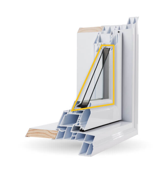 Bay Windows - Double-Glazed Low-E Argon Gas