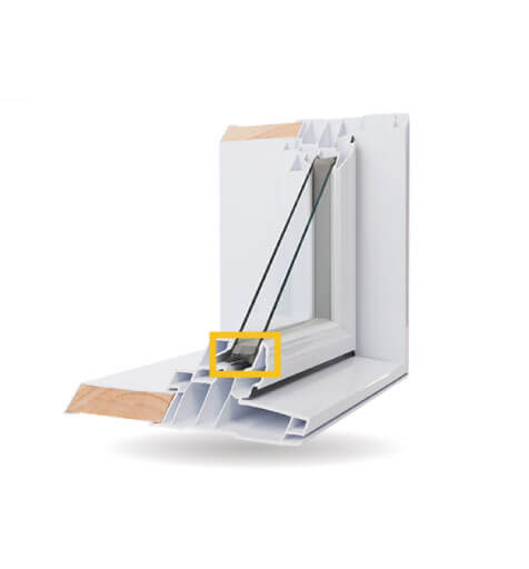 Custom Shaped Windows - Tremco® EnerEDGE® Warm-Edge Spacer