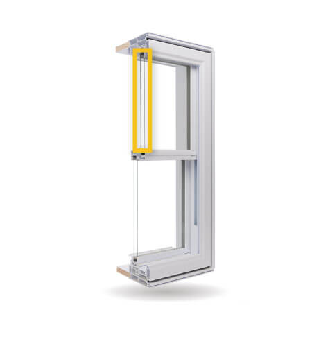Double Hung Windows - Double-Glazed Low-E Argon Gas