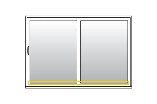 Patio Doors - Welded sash