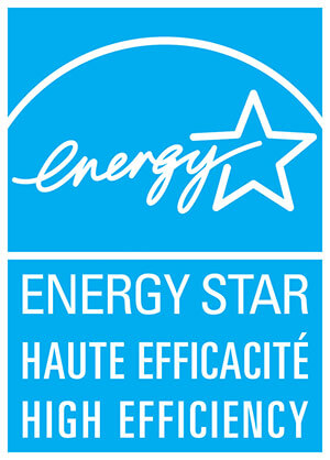 Haute efficacité Energy Star®