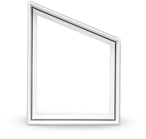 A modern Polygonal Shaped Window