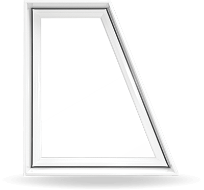 Custom Shaped PVC Windows