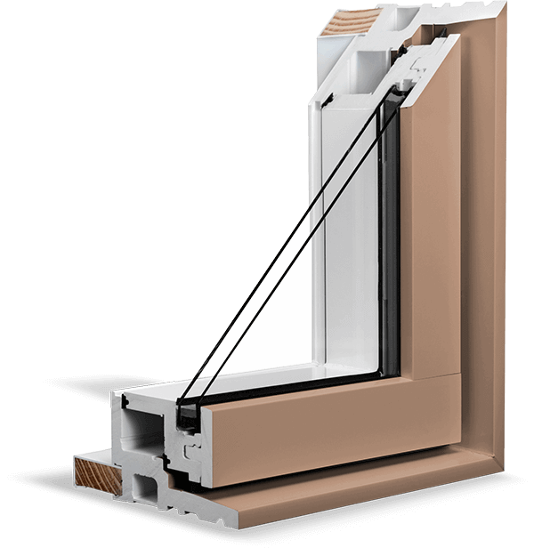 A Tan RevoCell® Window Section.